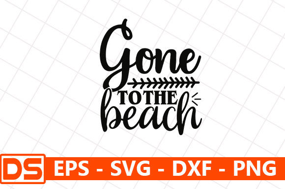 Print on Demand: Gone to the Beach Graphic Print Templates By Star_Graphics