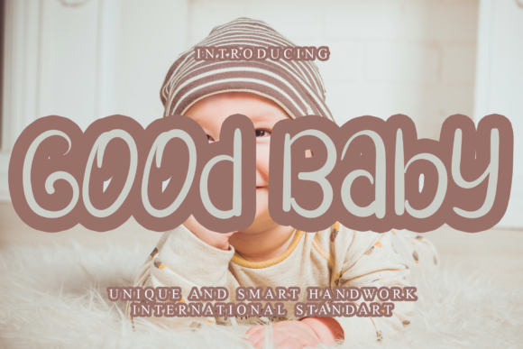 Print on Demand: Good Baby Script & Handwritten Font By dazzlinggleam