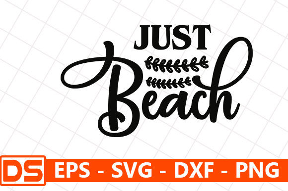 Print on Demand: Just Beach Graphic Print Templates By Star_Graphics