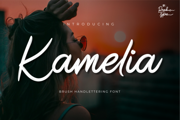 Print on Demand: Kamelia Script & Handwritten Font By Productype