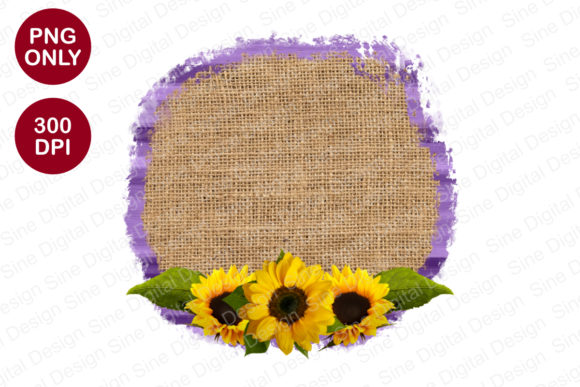 Sack Texture and Purple Background PNG Graphic Backgrounds By SineDigitalDesign