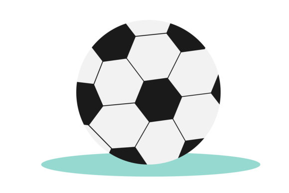 Print on Demand: Soccer Ball or Football Ball. Vector. Graphic Illustrations By OK-Design