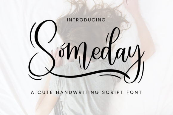 Print on Demand: Someday Script & Handwritten Font By TypeFactory