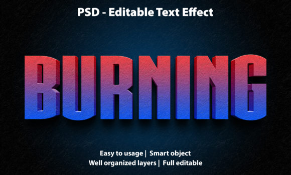 Text Effect Burning Premium Graphic Graphic Templates By yosiduck