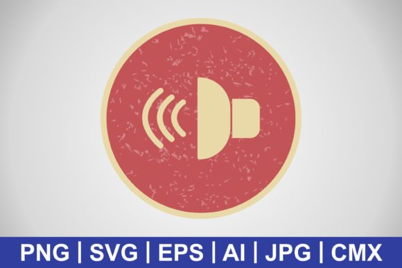 Print on Demand: Vector Sound Icon Graphic Icons By IYIKON