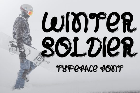 Print on Demand: Winter Soldier Display Font By Ansart