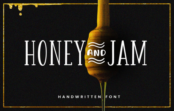 Print on Demand: Honey and Jam Serif Font By Shaped Fonts