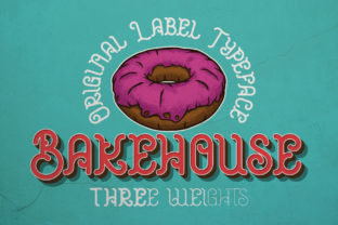 Print on Demand: Bakehouse Display Font By Vozzy Vintage Fonts And Graphics