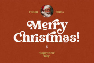 Print on Demand: Creative Vintage Display Font By Blessed Print 10