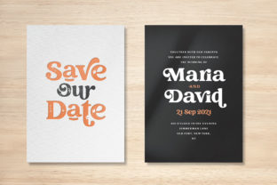 Print on Demand: Creative Vintage Display Font By Blessed Print 13