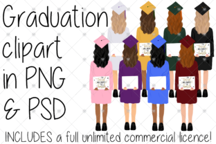 Print on Demand: Graduation Graphic Illustrations By CommercialCliparts