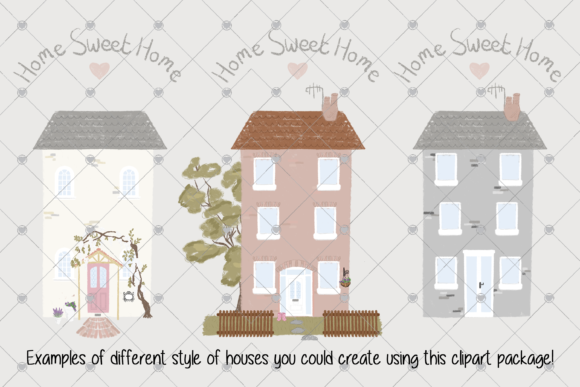 Print on Demand: House Graphic Illustrations By essexprintingservice