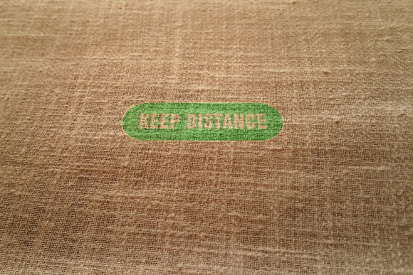 Keep Distance Embroidery Download