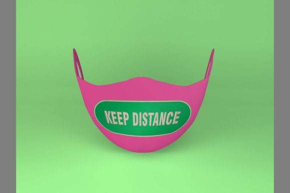 Keep Distance Embroidery Preview
