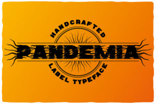 Print on Demand: Pandemia Display Font By Vozzy Vintage Fonts And Graphics