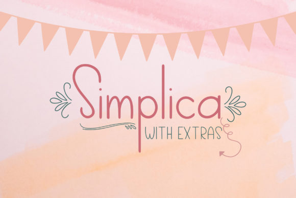 Print on Demand: Simplica Sans Serif Font By Summit View Designs