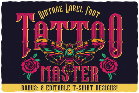 Print on Demand: Tattoo Master Blackletter Font By Vozzy Vintage Fonts And Graphics