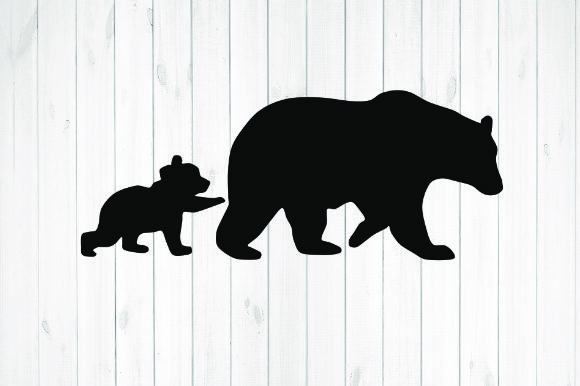 Print on Demand: Bear and Her Cub Graphic Illustrations By rayan