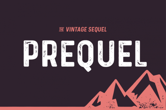 Print on Demand: Prequel Display Font By Shaped Fonts