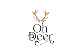 Oh Deer Christmas Craft Cut File By Creative Fabrica Crafts