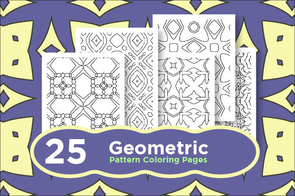 Print on Demand: Abstract Coloring Pattern Bundle Graphic Coloring Pages & Books Adults By Riduwan Molla
