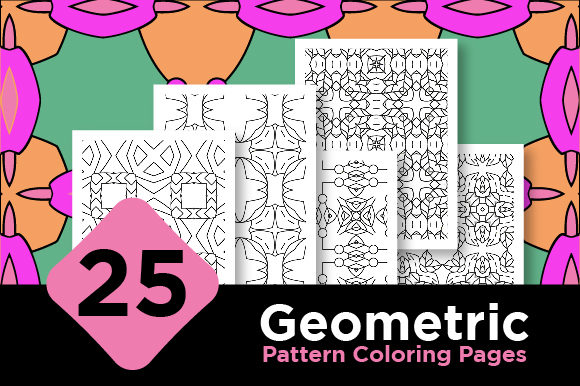 Print on Demand: Abstract Pattern Coloring Pages Design Graphic Coloring Pages & Books Adults By Riduwan Molla