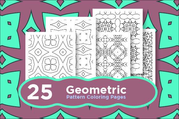 Print on Demand: Bundle of Geometric Pattern Graphic Coloring Pages & Books Adults By Riduwan Molla