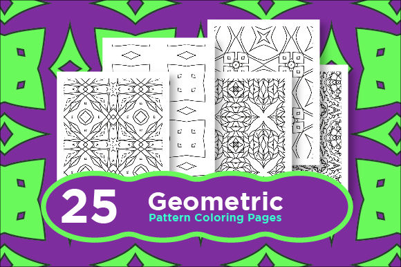 Print on Demand: Bundle of Seamless Pattern Graphic Coloring Pages & Books Adults By Riduwan Molla