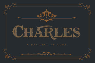 Print on Demand: Charles Serif Font By The1stWinner