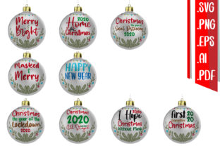 Christmas Text Rounded Svg Eps Version.2 Graphic Crafts By assalwaassalwa
