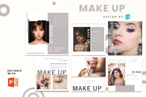 Instagram Feed - Make Up Graphic Presentation Templates By 57creative