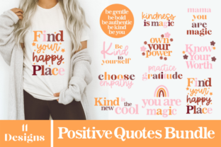 Kindness Bundle, Positive Quotes, SVG Graphic Crafts By Rumi Designed