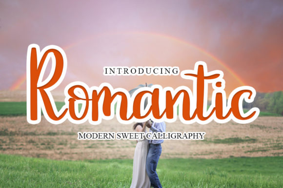 Print on Demand: Romantic Script & Handwritten Font By mizanstudio