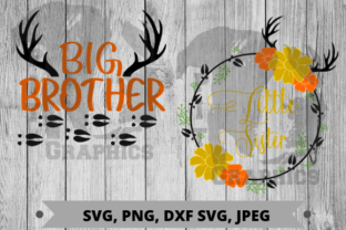 Big Brother Little Sister Graphic Crafts By Pit Graphics
