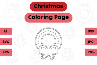 Christmas Coloring Page - Decoration 14 Graphic Coloring Pages & Books Kids By isalsemarang