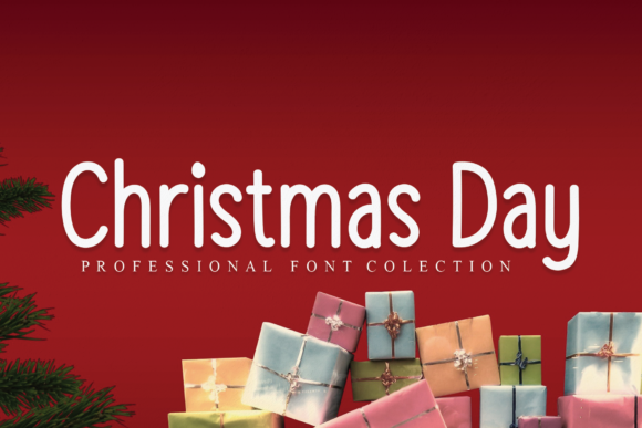 Print on Demand: Christmas Day Script & Handwritten Font By andikastudio