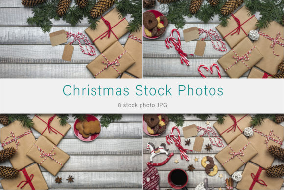 Print on Demand: Christmas Styled Stock Photos Graphic Photos By AS Digitale