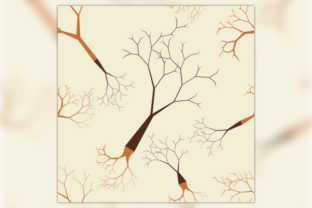 Leafless Tree Seamless Pattern Graphic Patterns By faqeeh