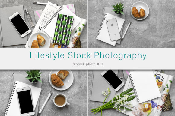 Print on Demand: Lifestyle Stock Photo Bundle Graphic Photos By AS Digitale
