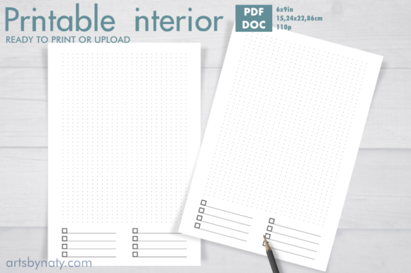 Print on Demand: Printable Bujo with Priority to-do List. Graphic KDP Interiors By artsbynaty