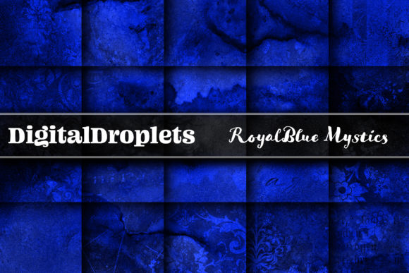 Royal Blue Graphic Backgrounds By digitaldroplets