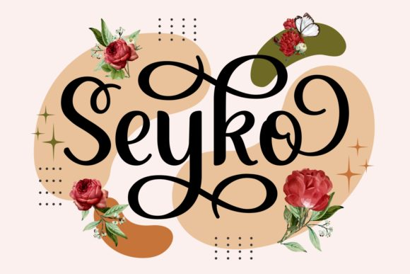 Print on Demand: Seyko Script & Handwritten Font By Keithzo (7NTypes)