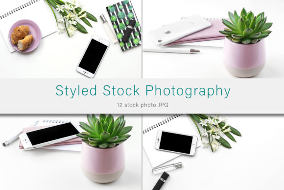 Print on Demand: Styled Stock Photo Bundle Graphic Photos By AS Digitale
