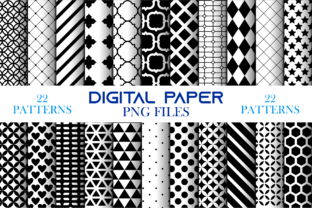Print on Demand: Digital Paper Bundle 0001 Graphic Graphic Templates By Cerescrafts