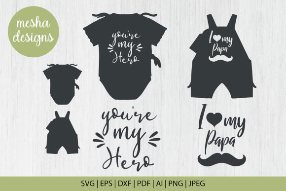 Print on Demand: Fathers Day Quotes Svg Cut Files Graphic Crafts By DIYCUTTINGFILES