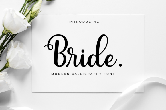 Print on Demand: Bride Script & Handwritten Font By Typestory