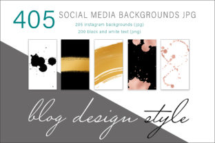 Print on Demand: Social Media Digital Backgrounds Graphic Backgrounds By AS Digitale