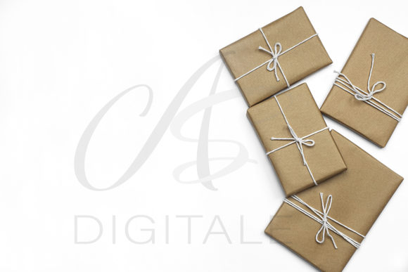Print on Demand: Christmas Gifts Styled Stock Photo Graphic Photos By AS Digitale