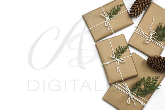 Print on Demand: Christmas Gifts Styled Stock Photos Graphic Photos By AS Digitale