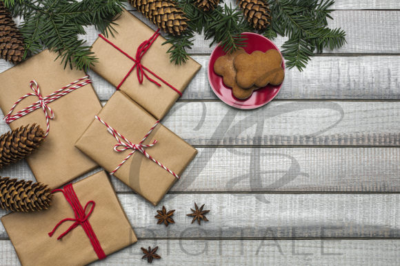 Print on Demand: Christmas Styled Stock Photo Graphic Photos By AS Digitale
